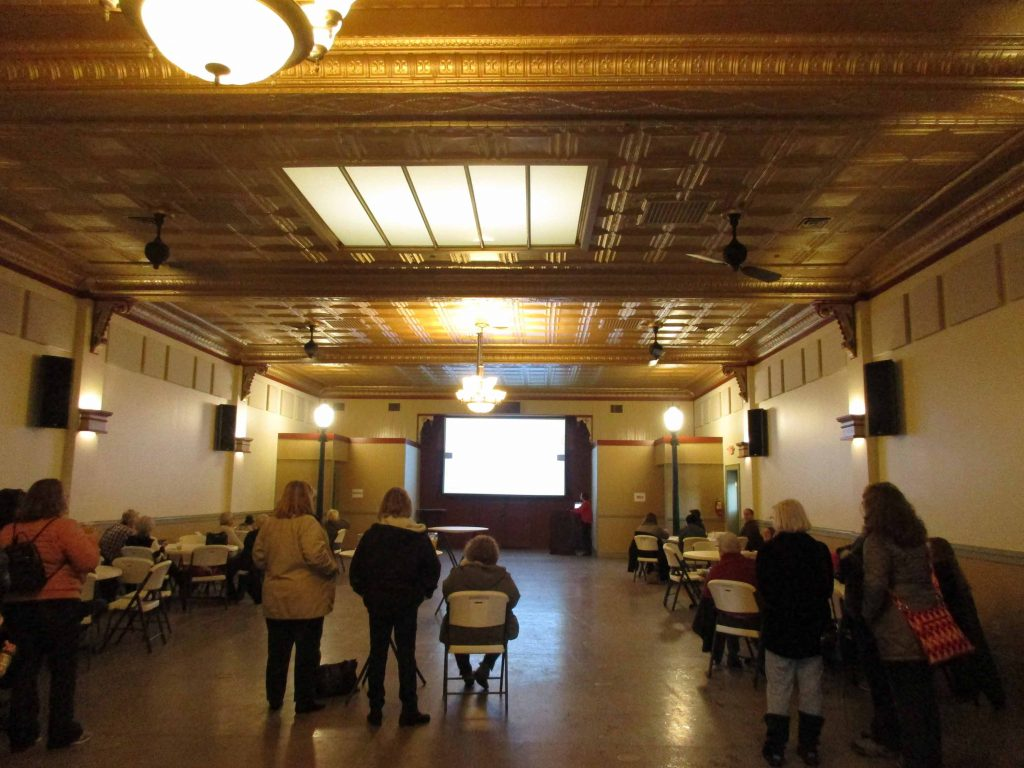 interior of Ideal Social Hall
