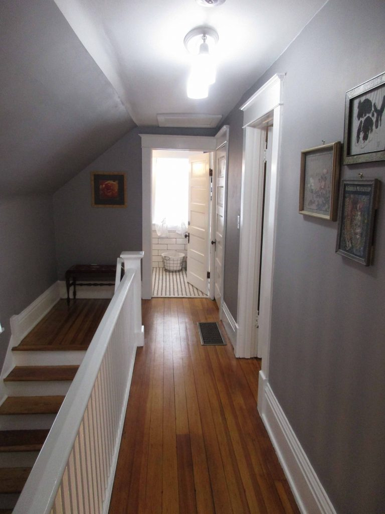 hallway in Lunak House