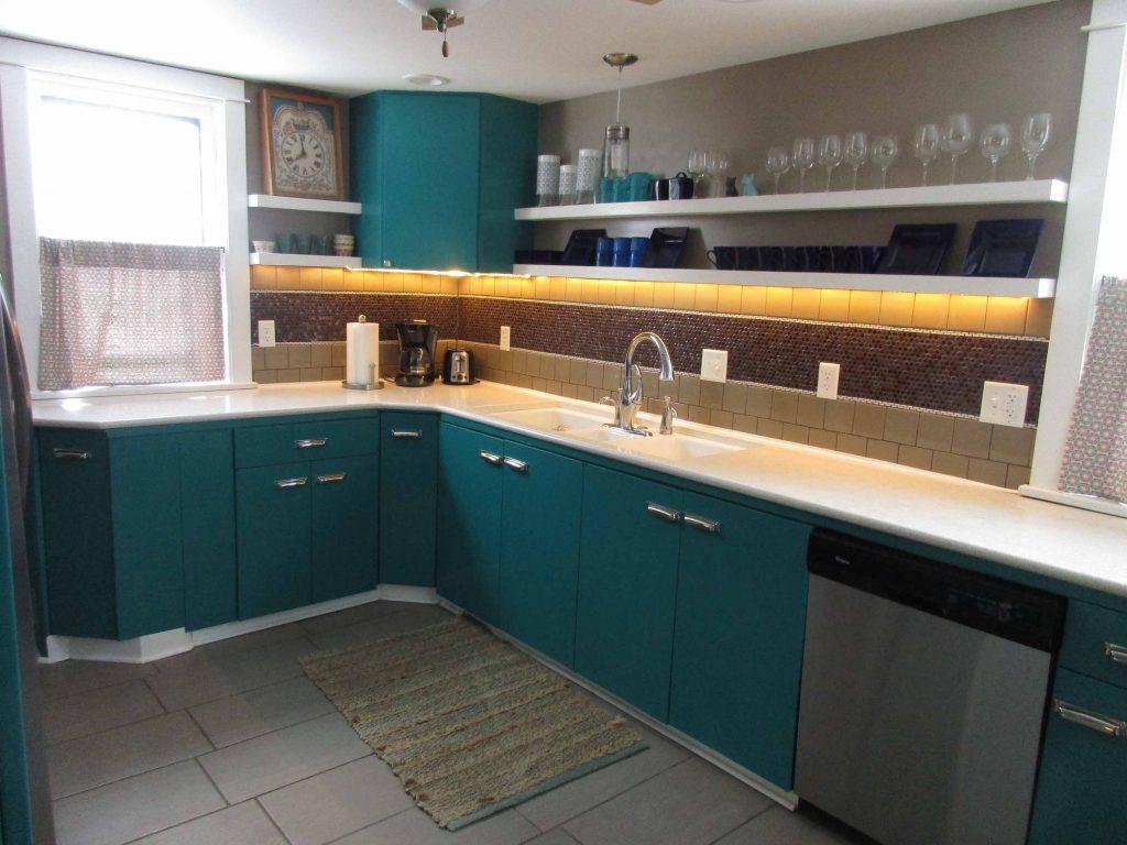 kitchen in Lunak House