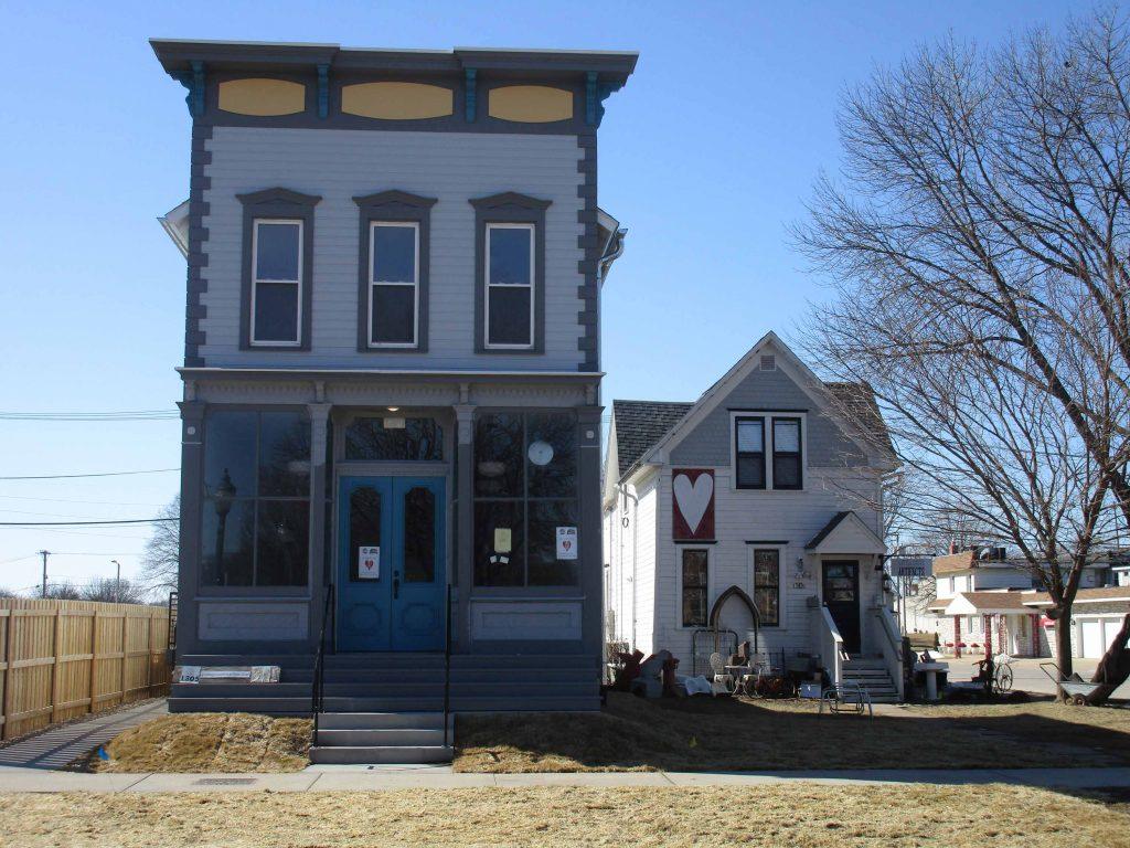 Novotny House and White Elephant exterior