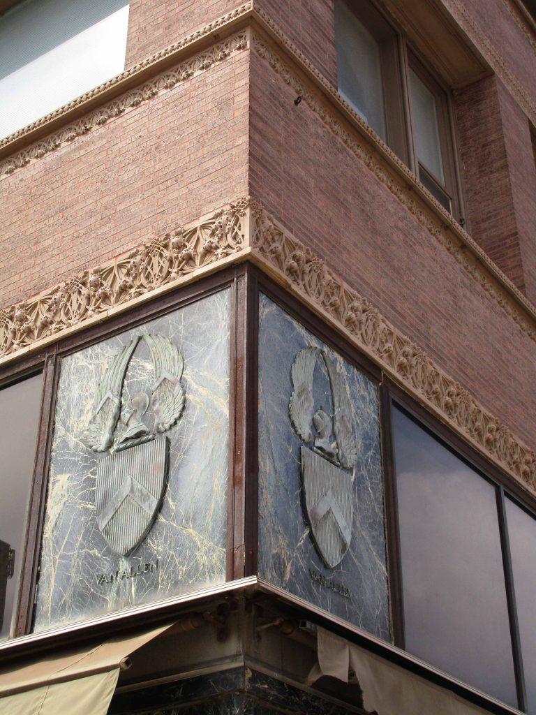 corner of Van Allen Building