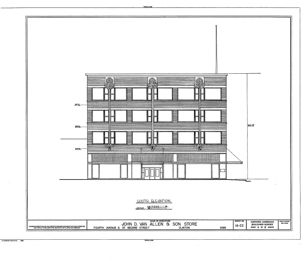 Van Allen Building rendering