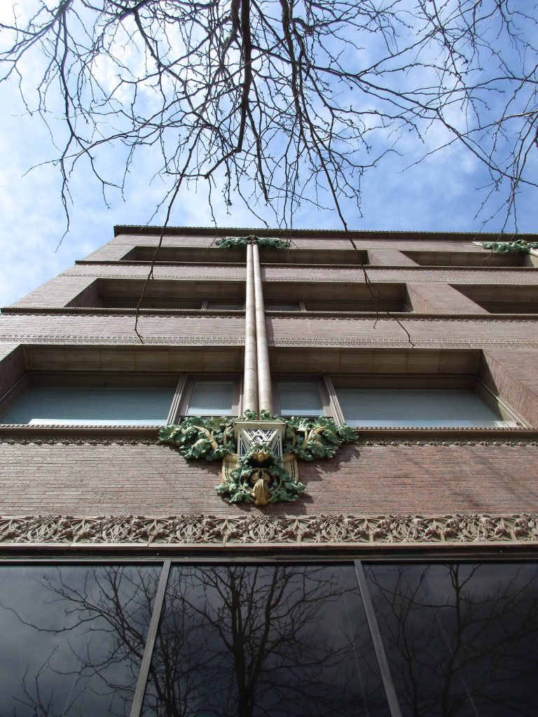 Van Allen Building ornamentation