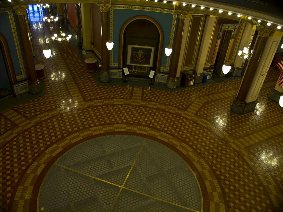 main floor of Iowa capitol