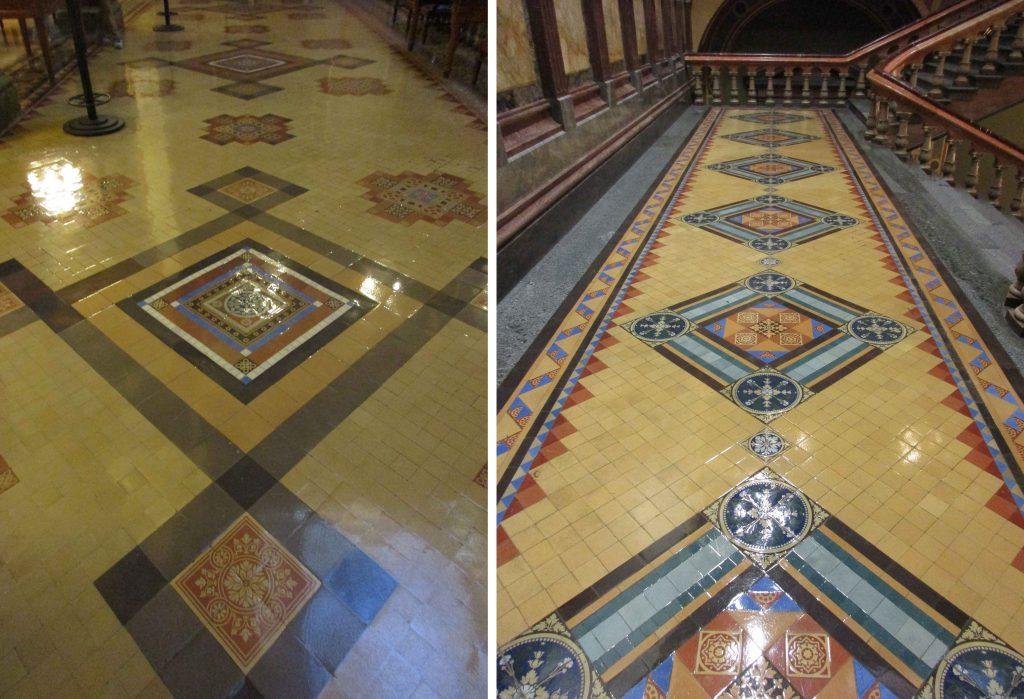 Iowa capitol tile floors
