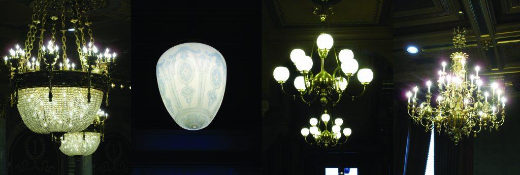 Iowa capitol light fixtures
