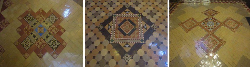 Iowa capitol encaustic tiles