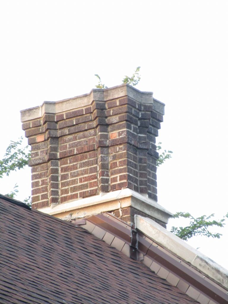 Fire station chimney