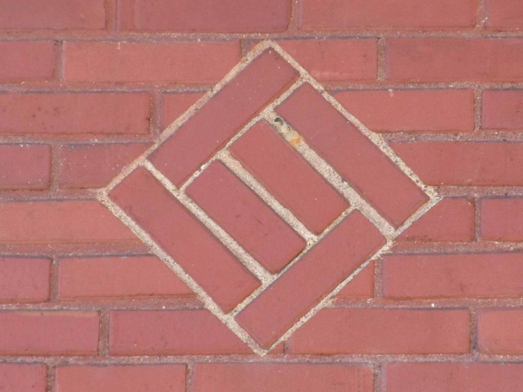 Brickwork on NewBo Fire Station, Cedar Rapids Iowa