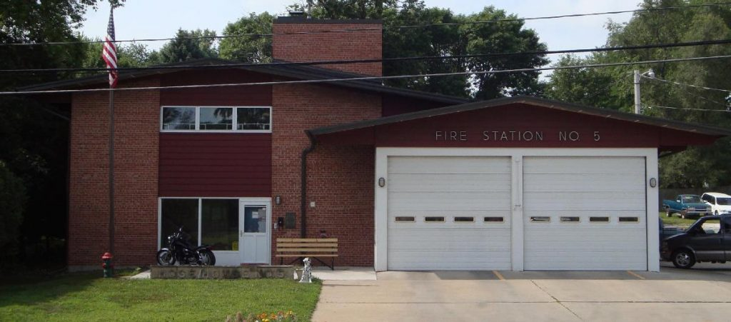 Late 1950s fire station