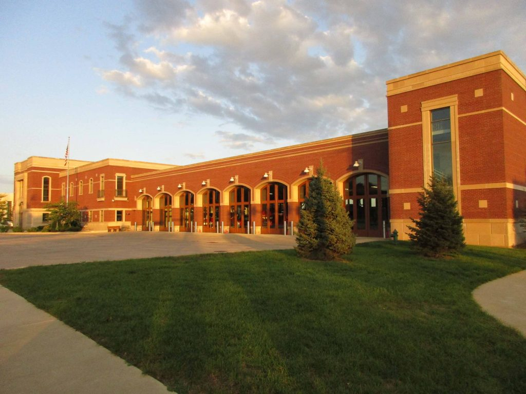 New fire station, Cedar Rapids Iowa