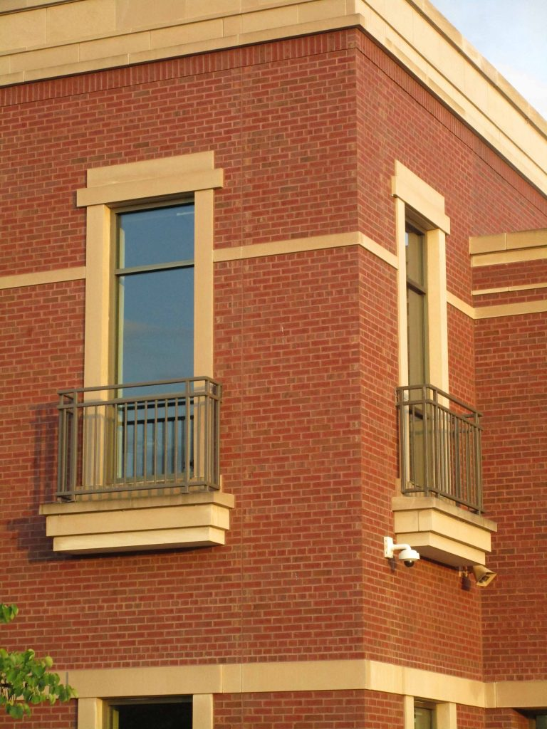 Fire station balconies