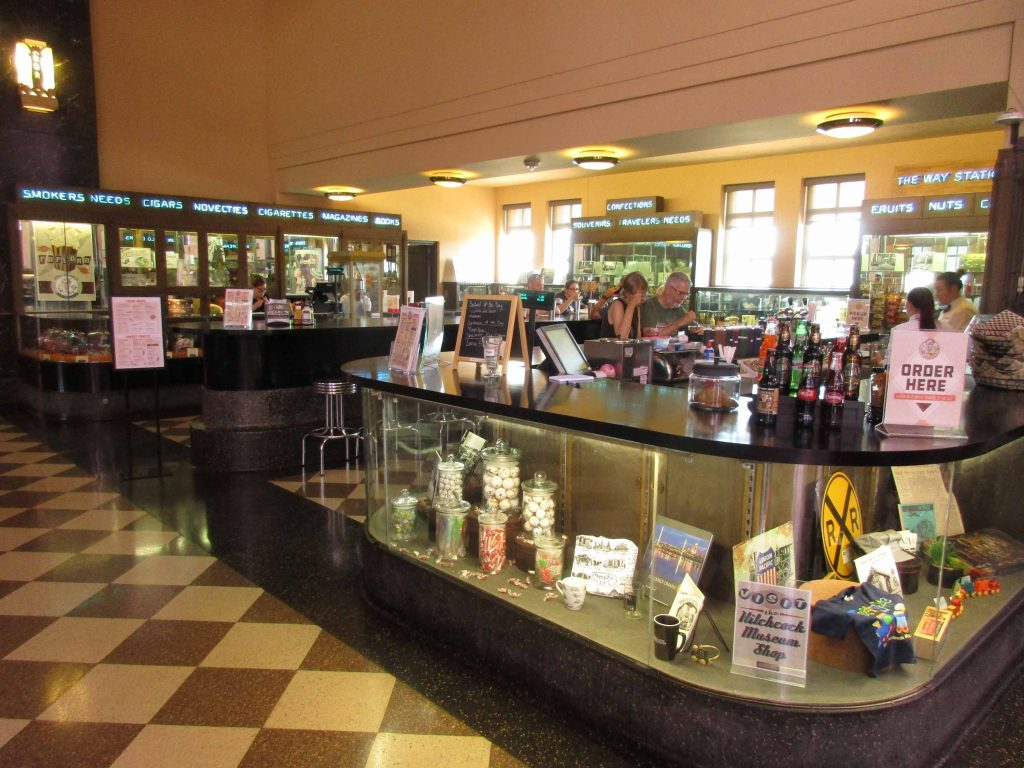 Soda fountain at Union Station, Omaha
