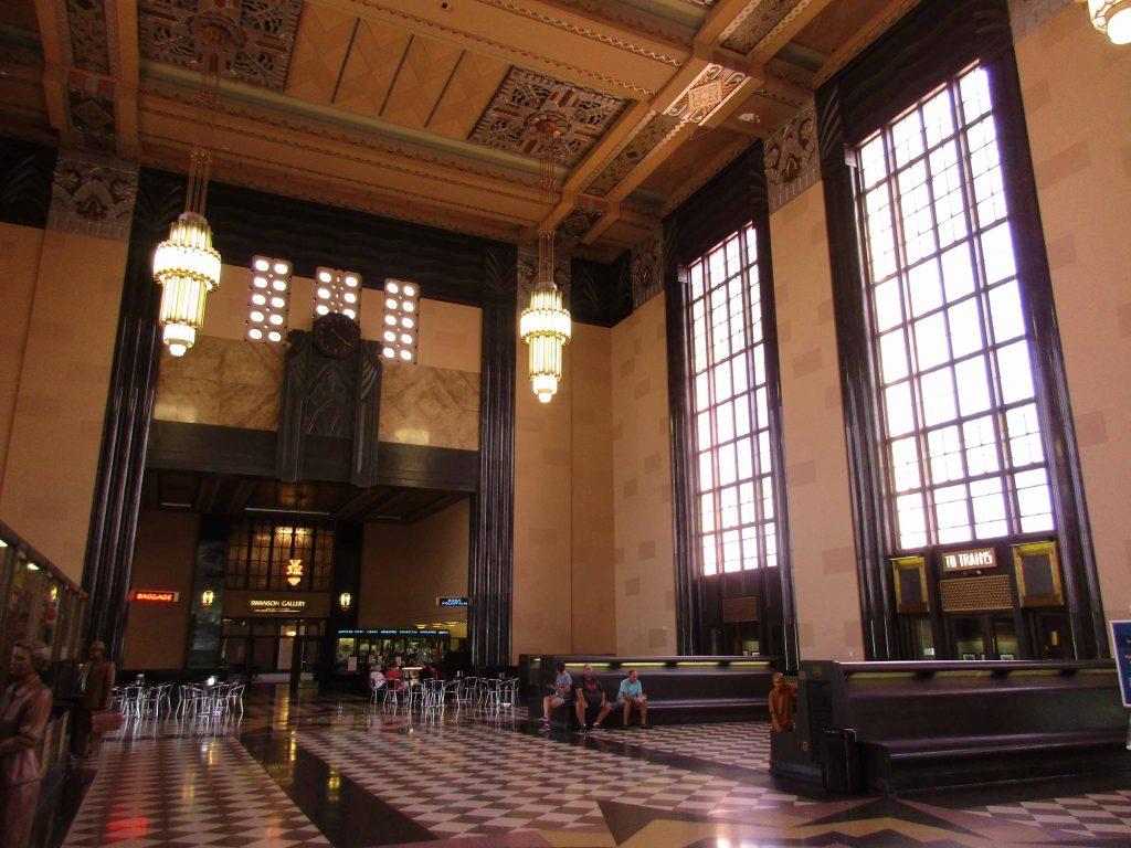 Interior of Union Station, Omaha