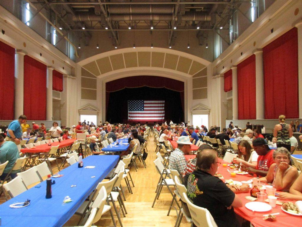 Auditorium of Veterans Memorial Building