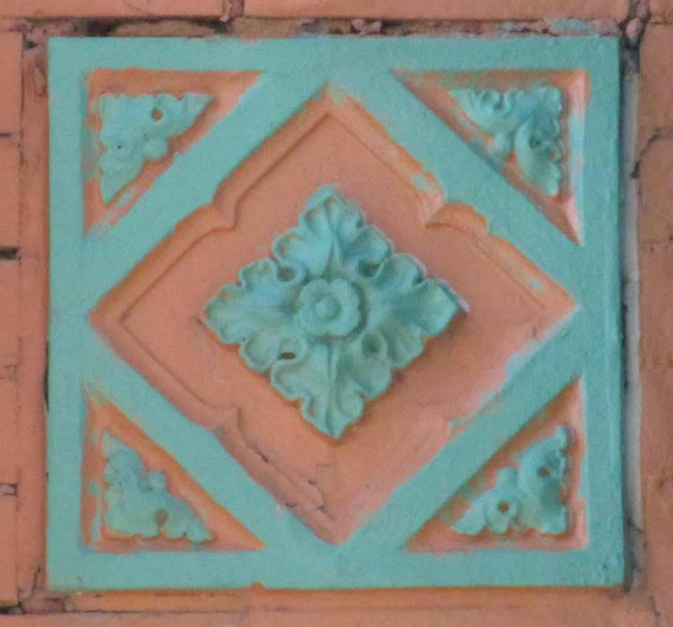 1930s terracotta tile