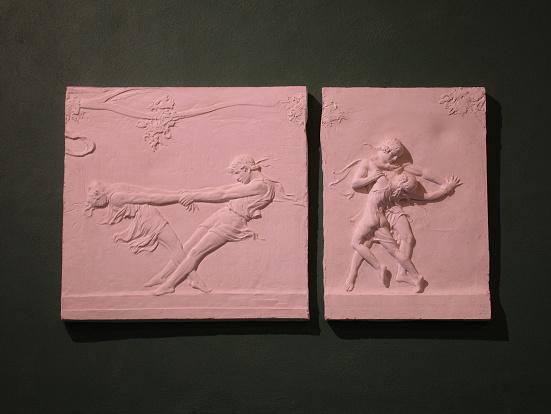 plaster Bacchanale Frieze by Malvina Hoffman